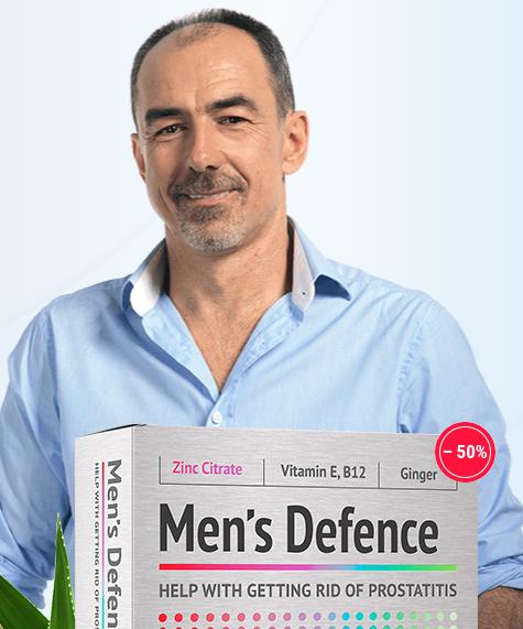 Men's Defence - funciona - ingredientes - como tomar