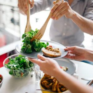 Plano de dieta para a saúde e bem-estar